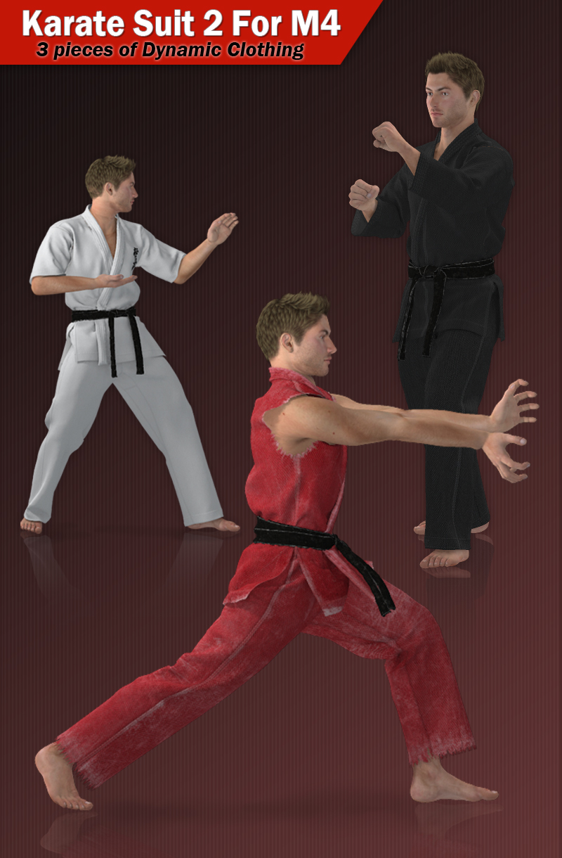Karate Suit 2 for M4