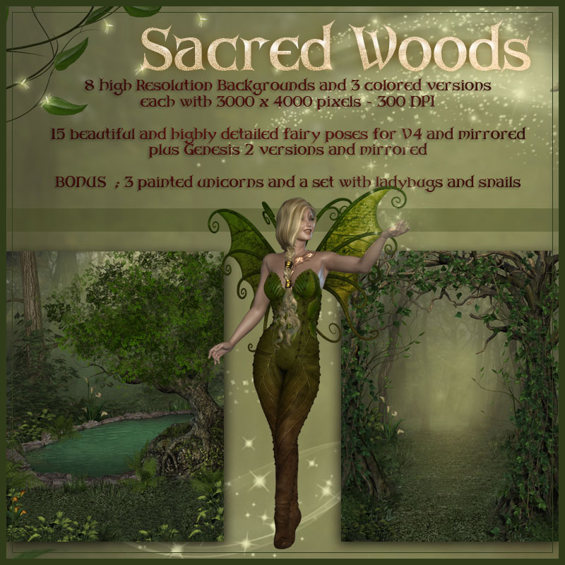 Sacred Woods by ilona