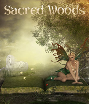 Sacred Woods 2D 3D Figure Essentials 3D Models ilona