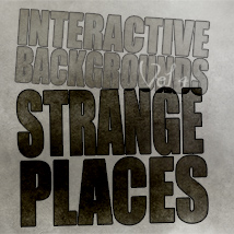 Interactive Backgrounds: Vol4 - Strange Places 3D Figure Essentials 3D Models 2D Hinkypunk