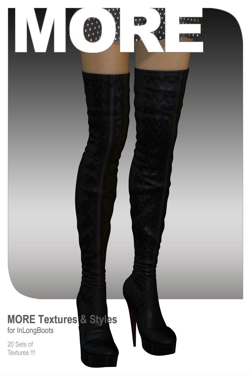 MORE Textures & Styles for InLongBoots