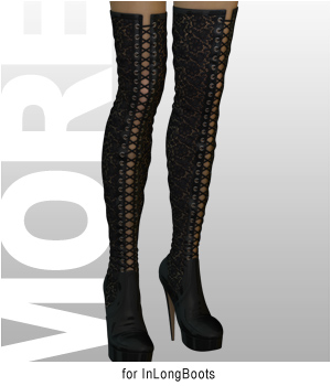 MORE Textures & Styles for InLongBoots 3D Figure Essentials 3D Models motif