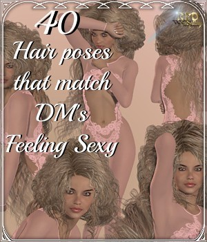 POSEthatHAIR Semiramis-FeelingSexy 3D Figure Essentials renapd