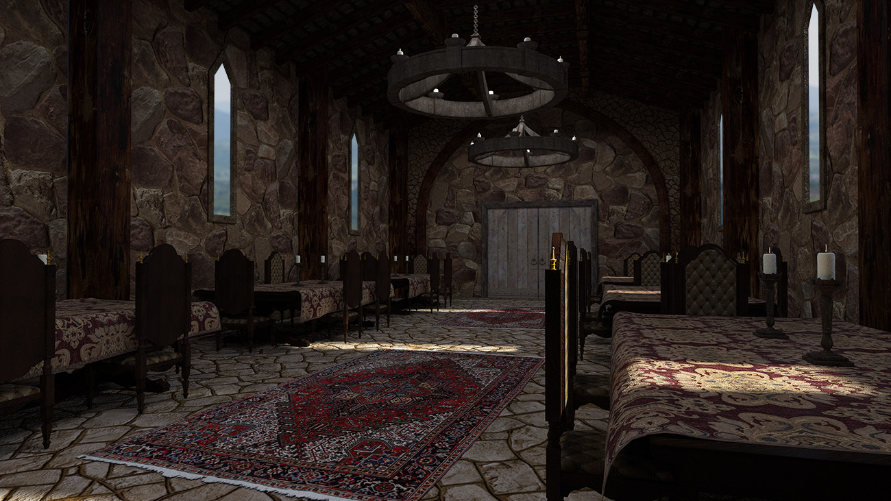 Medieval Dining Hall 3d Models Rpublishing