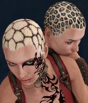 Oops! My hair growth, for Alpha Scalp 3D Figure Assets StudioArtVartanian