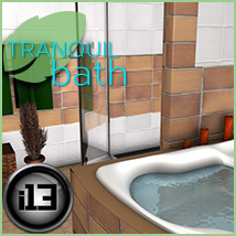 i13 Tranquil Bath 3D Models Software ironman13