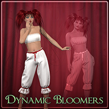 Dynamic Bloomers Clothing Frequency
