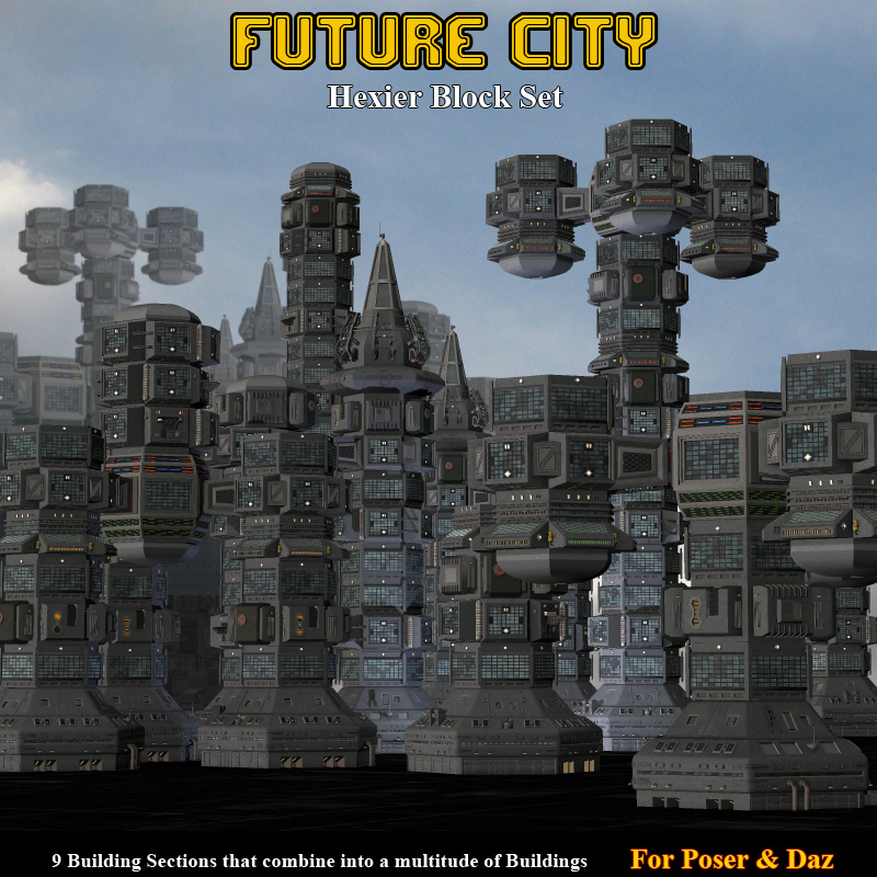 Future City Hexier Blocks