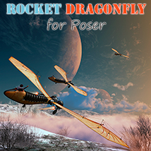 Rocket dragonfly Transportation Themed 1971s