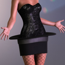 Girl In A Hat for Genesis 2 Female(s) image 4