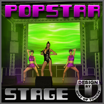 Popstar Stage Software 3D Models outoftouch