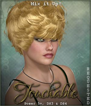 Touchable Hr-123 Themed Hair -Wolfie-
