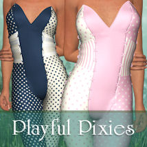 Playful Pixies for Styx Clothing ANG3L_R3D