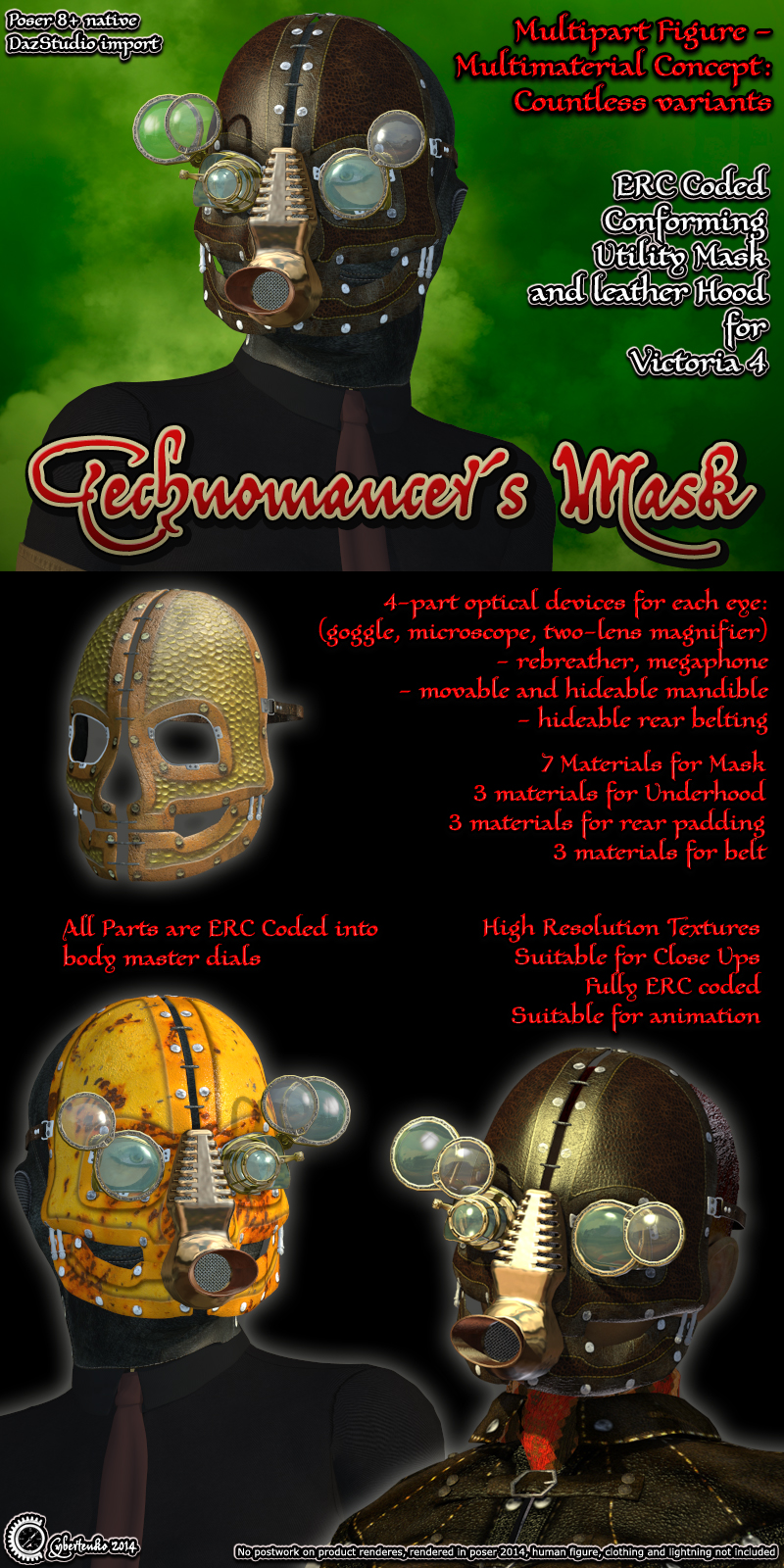 Technomancer Mask V4 edition