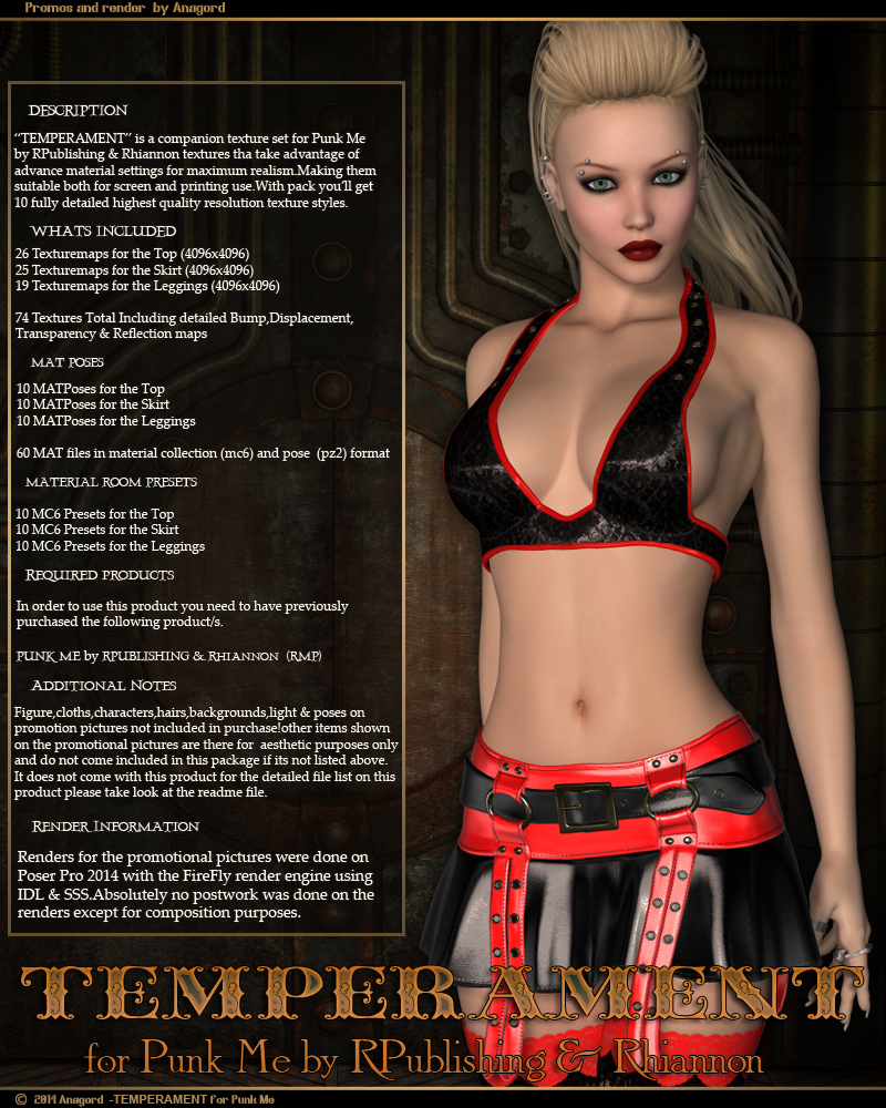 TEMPERAMENT for Punk Me by Anagord