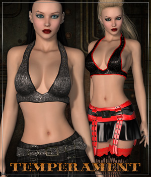 TEMPERAMENT for Punk Me 3D Figure Essentials Anagord
