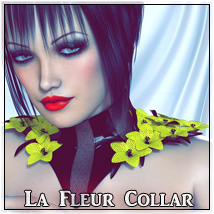 La Fleur Collar Clothing SynfulMindz
