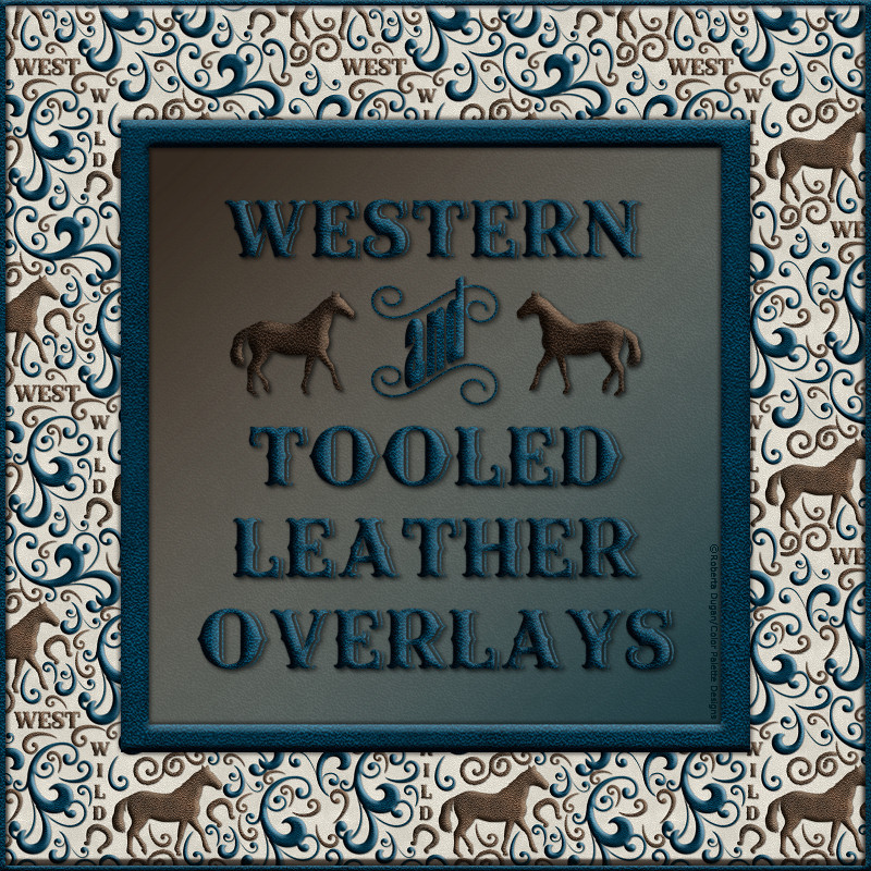 Design Resource: Western & Tooled Leather Overlays
