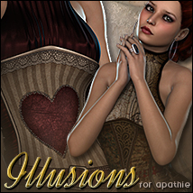 Illusions for Apathie 3D Figure Assets Sveva