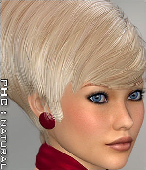 PHC : HR-121 Hair Software Themed P3D-Art