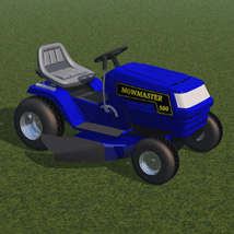 Ride On Mower (for Poser) image 1