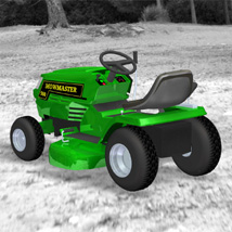 Ride On Mower (for Poser) image 4