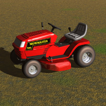 Ride On Mower (for Poser) image 6
