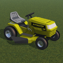 Ride On Mower (for Poser) image 7