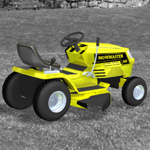 Ride On Mower (for Poser) image 8