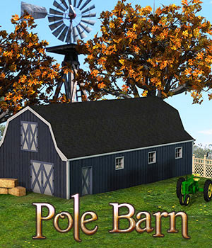 Pole Barn 3D Models RPublishing