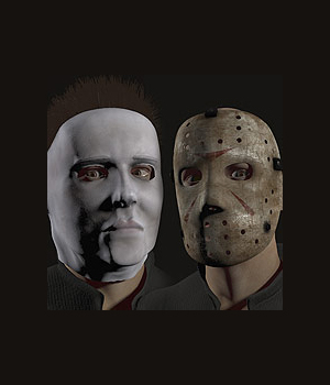 Horror Masks 3D Models coflek-gnorg