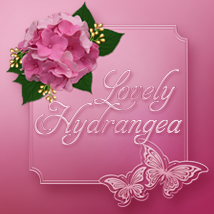 Lovely Hydrangea Themed 2D And/Or Merchant Resources cornucopiaart