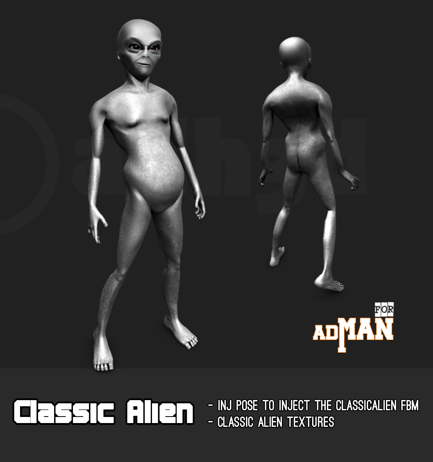 Classic Alien for adman