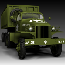 STUDEBAKER US6 SEMI-TRAILER 3D Models Nationale7