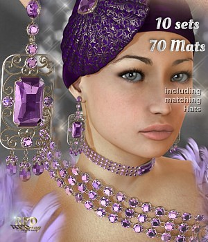 Rachel Jewelry - Precious! 3D Figure Essentials 3D Models renapd