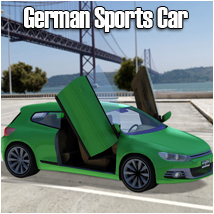 German Sports Car Themed Props/Scenes/Architecture Transportation RPublishing