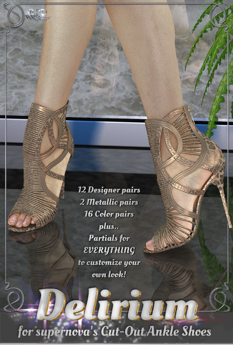 Cut-out ankle shoes - Delirium