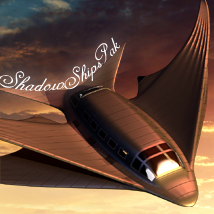 Shadow Ships Pak Props/Scenes/Architecture Transportation Themed melc