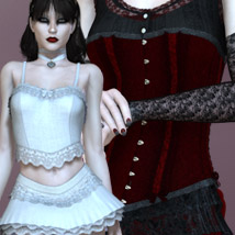 Forbidden - Victorian Innocence Bundle 3D Figure Essentials 3D Models kaleya
