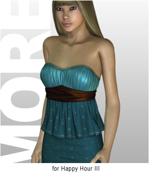 MORE Textures & Styles for Happy Hour III 3D Figure Essentials 3D Models motif