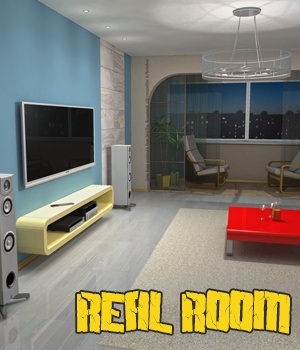 Real Room 2 3D Models hameleon