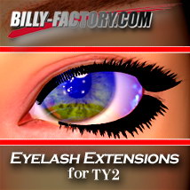 TY2 Eyelash Extensions 3D Figure Assets billy-t