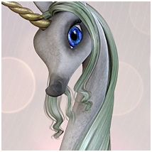 Candy Unicorn Mane/Hair image 5