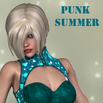 Punk Summer 3D Figure Essentials PipNBairns