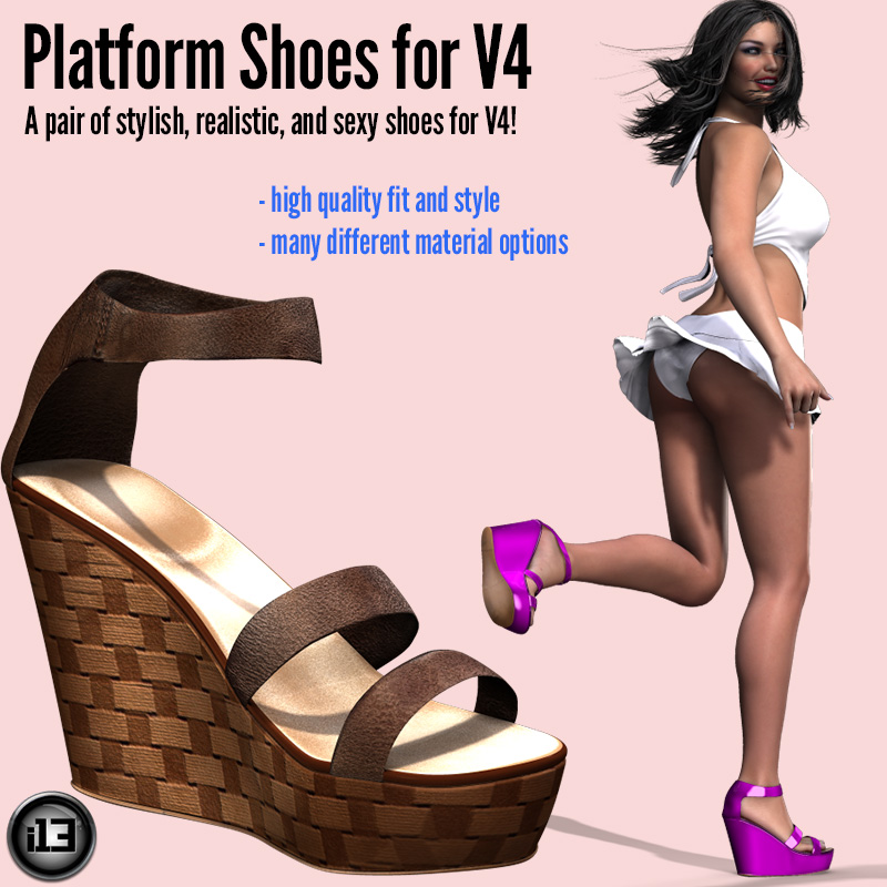 i13 Platform Shoes for V4