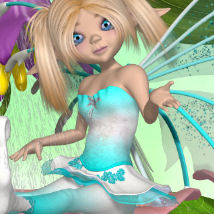 DA-Fairytale for AmiFae 3D Figure Essentials DarkAngelGrafics