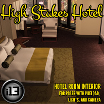 i13 High Stakes Hotel Props/Scenes/Architecture Software ironman13