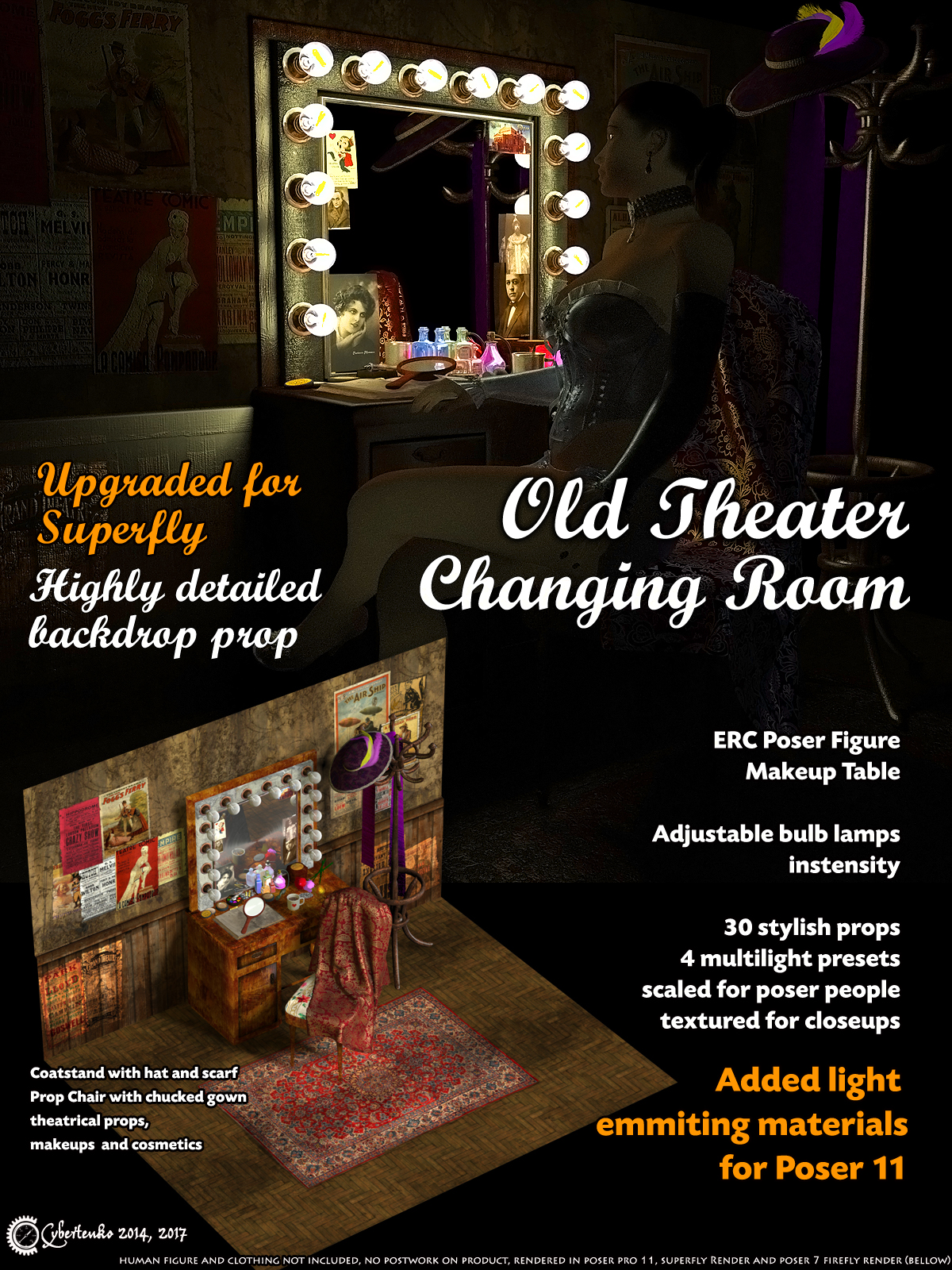 Old Theater Changing Room