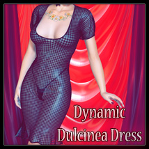 Dynamic Dulcinea Dress 3D Figure Essentials SynfulMindz