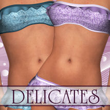 Delicates for Amour Clothing ANG3L_R3D